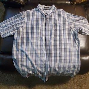 Sean John plaid 3xl button down mens shirt